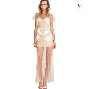 For Love and Lemons Balmy Nights Maxi Dress